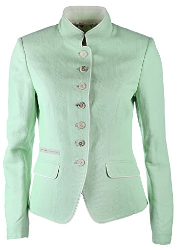 White Label Damen Jacke Größe 42 Grün (grün)