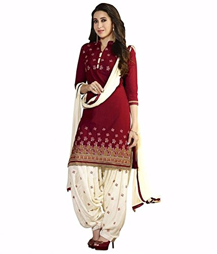 Dress material(Dresses for women party wear Designer Dress Material Today offers buy online in Low Price Sale Multi Color Poly Cotton Fabric Free Size Salwar Suit Material )