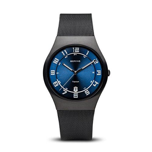 BERING Herren-Armbanduhr Analog Quarz Edelstahl 11937-227