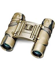 Tasco 10x25 Essentials - Prismático compacto, camuflaje