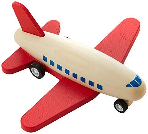 Siva Toys Siva_39812011 - Avión retráctil, Color Rojo