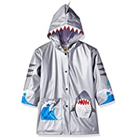 Kidorable Original Branded Shark Raincoat Jacket For Little Girls, Boys, Children, Toddlers