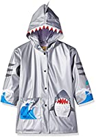 Kidorable Original Branded Little Boys Shark Raincoat (110-116)