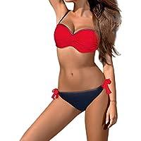 LILICAT!!! Mujer Acolchado Push-up Bra Bikini Set Traje de baño Traje de baño Traje de baño Ropa de Playa Traje de Bikini Acolchado Traje de baño Ropa de Playa