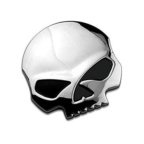 3d Metallschädel Auto Motorrad Aufkleber Schädel Emblem Aufkleber Auto Styling Zubehör Abziehbilder