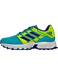 adidas deporte en plata estilo Ultra ligero ajuste cómodo zapatos de Hockey Junior, amarillo, 4,5