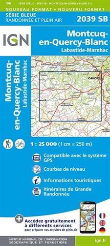 2039SB CAHORS(OUEST) LABASTIDE- MARNHAC MONTCUQ par COLLECTIF