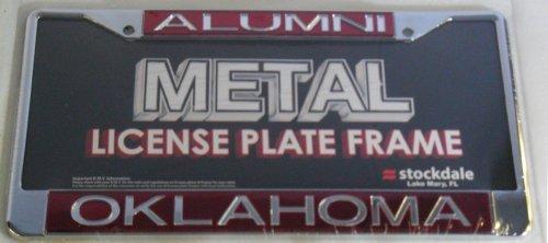 Oklahoma Metal Alumni Inlaid Acrylic License Plate by Stockdale