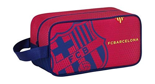 Safta 311258 F.C. Barcelona Bolsa para Zapatos, Color Azul y Granate