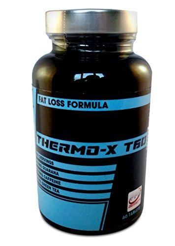 ULTRA STRONG Thermo-X T60 fat burners | diet pills, 60 weight management tablets, stoke your inner fire to its absolute extreme, more effective than any T5 or rasberry ketone, super strong pre workout tablet. 1 pack
