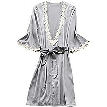 Rcool Camisones Batas y Kimonos Camisones Mujer Camisones Verano Camisones Tallas Grandes Mujer,Pijamas de