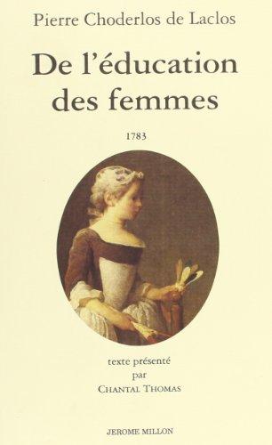 De l'ducation des femmes
