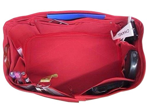 CHACREYAS BAG ORGANIZER BASE FITS FOR SPEEDY 25 RED COLOR (Speedy Base Shaper)