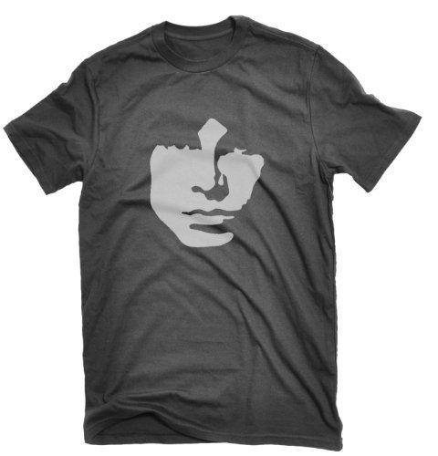 3709e739c88 Jim Morrison Camiseta The Doors Lizard King años Sesenta Negro Negro  Extra-Large