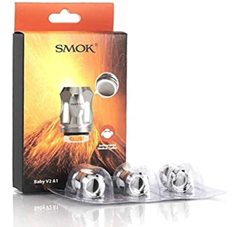 Smok Tfv8 Baby X Coils X4 3 Pack Amazon Co Uk Health Personal Care