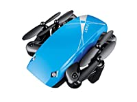 GEHOO GH Finger Drone S9W Mini Drone with Camera/S9 No Camera RC Foldable Drones Hold Quadcopter WiFi FPV Pocket Drone by GEHOO GH