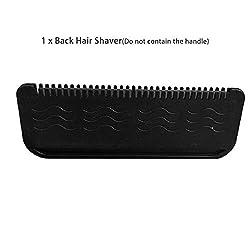Jacobssen Manual Back Hair Shaver Cuchilla de acero inoxidable Maquinilla de afeitar Removedor de cabello sin dolor Cuerpo Cuida