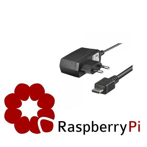 Unbekannt Original Rydges Premium Steckernetzteil by OTB Micro USB 5V 1000 mAh für Raspberry Pi B und A Model Tour 9630 Bluetooth