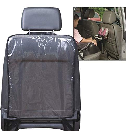 2x Rücklehnen-Schoner Autositz – Schutzfolie gegen Verschmutzungen, Kinder Füße, Transportschäden – Autositz Rückenschutz Rückenlehnenschutz KFZ PKW Sitze schützen – Robustes PVC