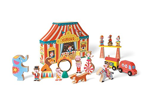 Janod J08520 - Story Box Circus, Legno