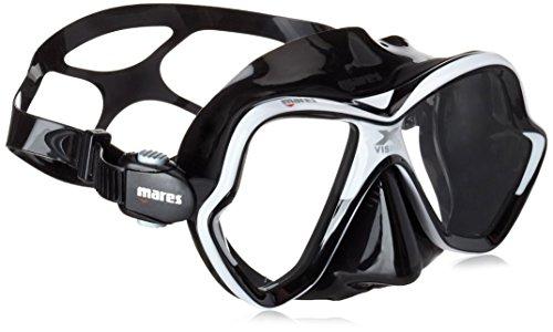 Mares X-Vision Mask 14Lunettes de plongée, Mixte, X-Vision Mask 14, Blanc/Noir, BX