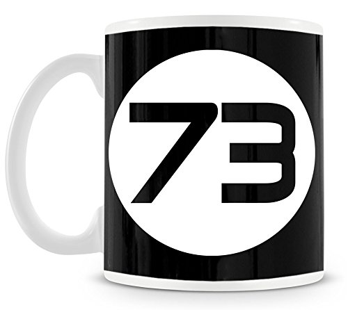 TSP Sheldons Best Number 73 Tasse