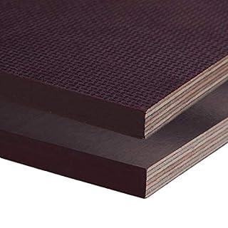 Siebdruckplatte 12mm Zuschnitt Multiplex Birke Holz Bodenplatte (60x80 cm)