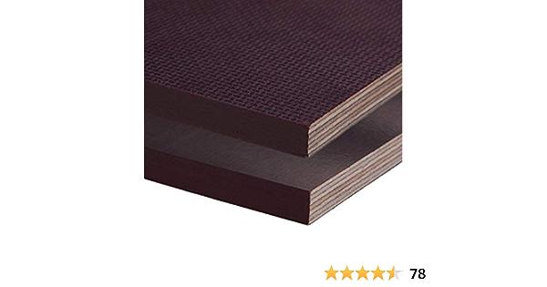 Siebdruckplatte 15mm Zuschnitt Multiplex Birke Holz Bodenplatte 90x100 cm