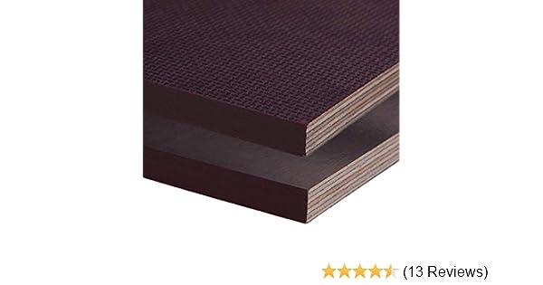 Siebdruckplatte 15mm Zuschnitt Multiplex Birke Holz Bodenplatte 180x80 cm