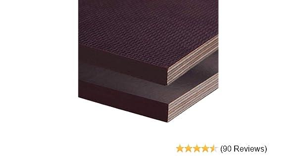 Siebdruckplatte 12mm Zuschnitt Multiplex Birke Holz Bodenplatte 190x100 cm