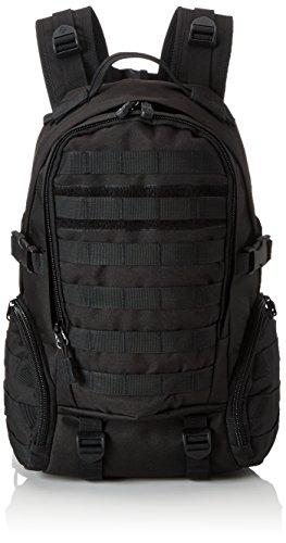YAAGLE 35 L wasserdicht Rucksack Reisetasche Gepäck militärisch outdoor Schultertasche Schüler Schultasche Sporttasche Schwarz