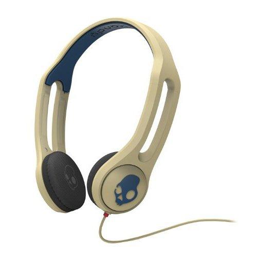 Skullcandy 3 Mic Kopfhörer (Skullcandy ICON 3 Taptech Kopfhörer mit Mikrofon khaki/navy)