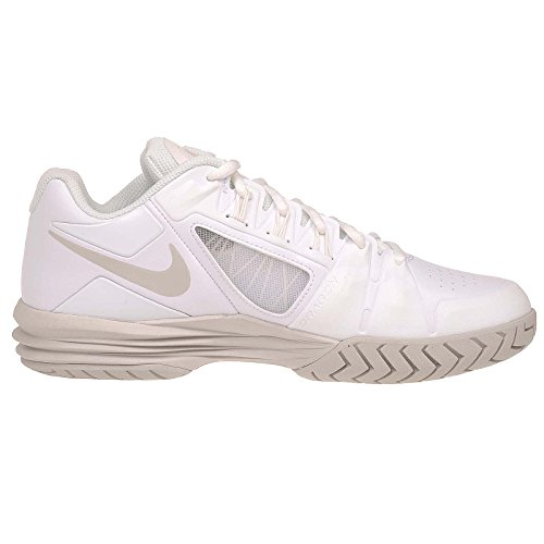 Nike Wmns Lunar Ballistec 1.5, Chaussures de Tennis Femme Blanc Cassé - Blanco (White / Light Bone-Summit White)