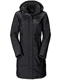 Jack Wolfskin Iceguard Coat, leichter, winddichter, wasserabweisender & atmungsaktiver Wintermantel für Damen, wärmender Mantel für Damen, knielanger Parka für Damen