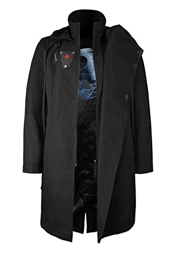 Lord Kostüm Dunkle Sith - Musterbrand Star Wars Mantel Herren Sith Lord Limited Edition Jacke schwarz S