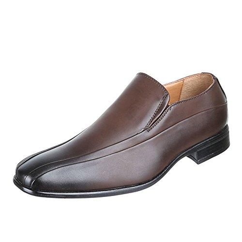 Chaussures basses chaussures pour homme, lf907N, Business–Chaussures Pantoufles Marron - Marron