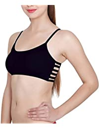 AA19 6 Strap Padded Bralette (Removable Pads)