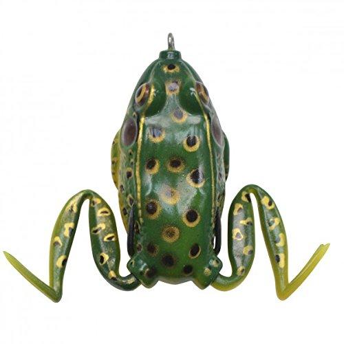 Frosch Köder Gummifrosch 6,5cm 19g, Farbe:Pool Frog (Zebco Angeln-ausrüstung)