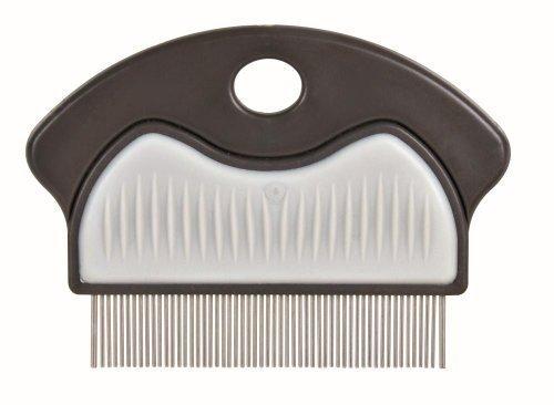 Trixie 23761 Floh- und Staubkamm, Metall, 7 cm