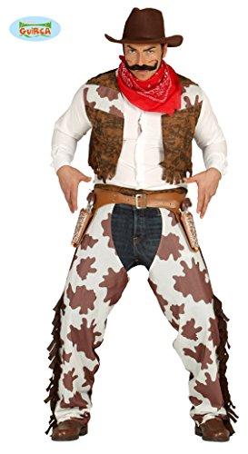 Costume cowboy western uomo 80824 Tg.Unica