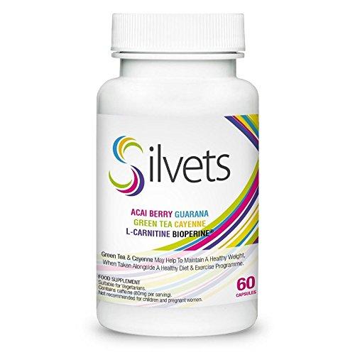 ✅SILVETS Premium: pérdida de peso saludable a pedido, quema de grasa efectiva, supresor del apetito ideal, ¡el producto de pérdida de peso más popular!