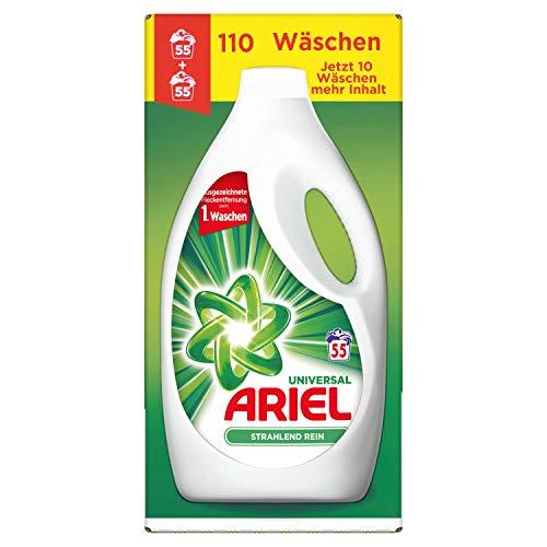 Ariel Universal Waschmittel Flüssig, 6,05l- 1er Pack (1 x 110 Waschladungen)