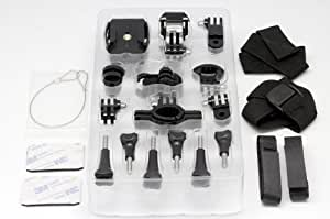 QUMOX @ Mounts Accessories Stips for SJ4000 Action Cam Camera Pack