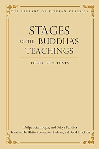 Stages of the Buddha's Teachings: Three Key Texts (Library of Tibetan Classics Book 10) (English Edition)