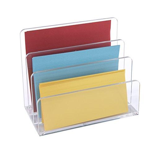 Osco ALH-1 Briefhalter aus klarem Acryl - 3