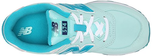 New Balance KL574 Grade Spitze. Laufschuh (Kleinkind/Little Kid/Big Kid) Blue/Sea Glass