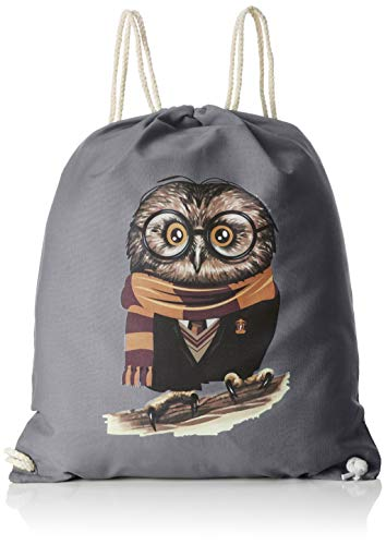 TEXLAB Harry Owl - Turnbeutel, grau -