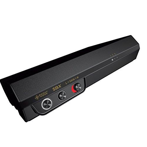 Creative Sound BlasterX G5 externe Soundkarte (7.1 Surround-HD-Audio, Kopfhörerverstärker) schwarz