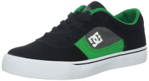 DC COLE PRO YOUTH SHOE 303323B-BGN, Unisex-Kinder Skateboardschuhe Gr眉n (BLACK / GREEN)
