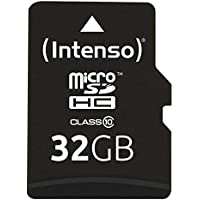Intenso Micro SDHC 32GB Class 10 Speicherkarte inkl. SD-Adapter
